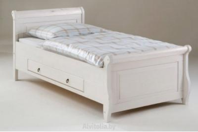 Кровать Мальта 100х200 с ящиками (ММЦ)