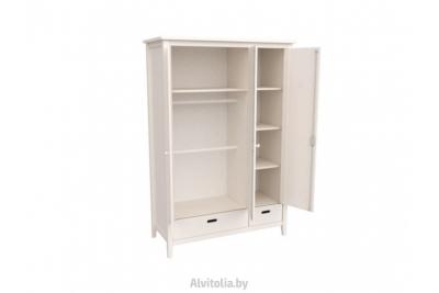 Шкаф для платья и белья Сиело 77319