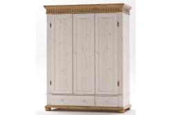 Шкаф для платья и белья Хельсинки 3 (3GT)
