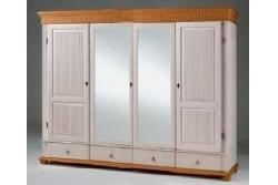 Шкаф для платья и белья Хельсинки 4M (4GT M)