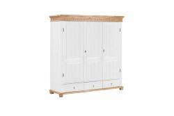 Шкаф для платья и белья Хельсинки 3GTM